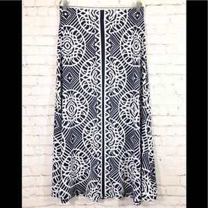 Metro Wear Womens Long Maxi Skirt Slip On Size L
